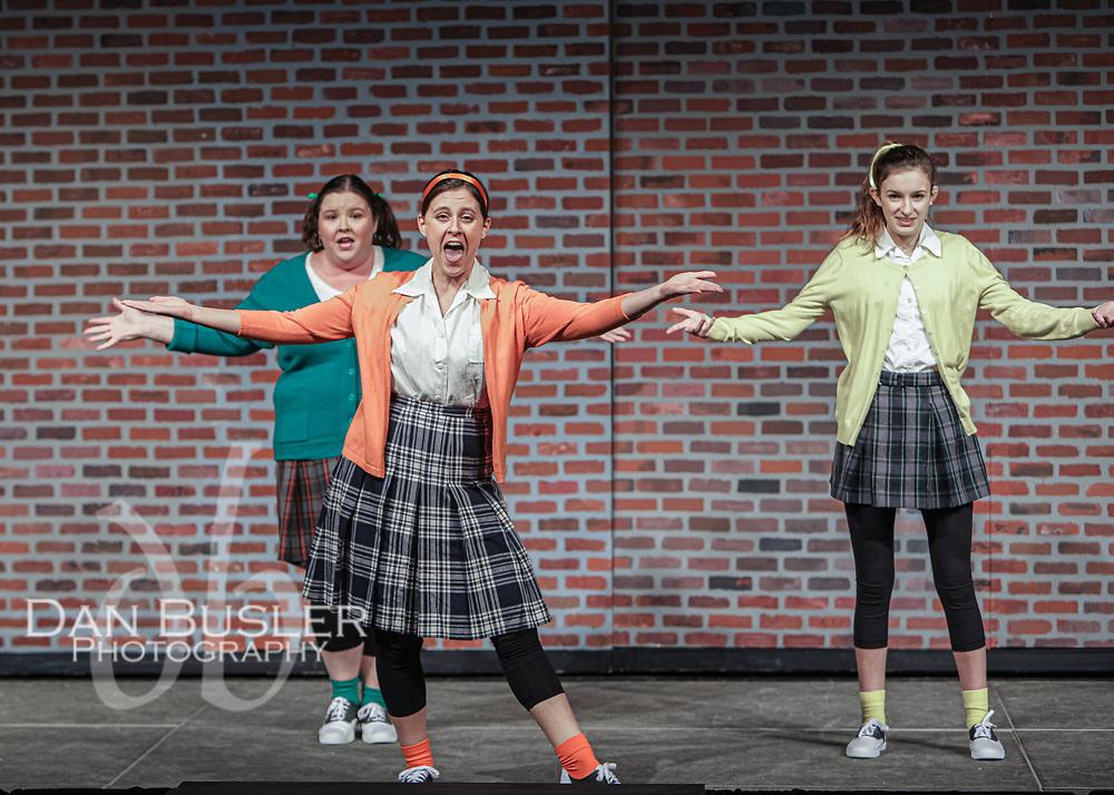 Milton Players Little Shop dress rehearsal 10-21-19