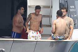 While discussing the future of Neymar JR. By the possible signing in the PSG, takes advantage of a small break from the F.C. BARCELONA to visit the island of Formentera in the company of friends to enjoy a day on the beach aboard a magnificent yacht<br /> <br />18 July 2017.<br /><br />Please byline: Vantagenews.com