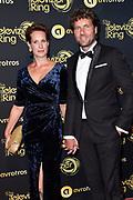 Uitreiking Gouden Televizier-Ring Gala 2018.<br /> <br /> OP de foto:  Dennis Wilt en partner