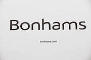 Sign for high end auction house Bonhams.