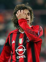 Fotball<br /> Serie A Italia  2004/05<br /> AC Milan Cagliari<br /> 19. februar 2005<br /> Foto: Digitalsport<br /> NORWAY ONLY<br /> Hernan Crespo Milan
