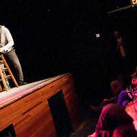 Gonzalo Cordova as Tig Notaro - Schtick or Treat 2012 - November 4, 2012 - Littlefield