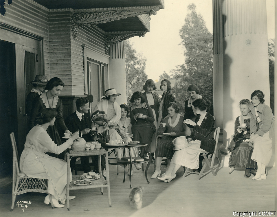1924 Ladies at the Hollywood Studio Club