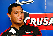 New Crusaders player Robbie Fruean. Super 14 rugby union. 2010 Rebel Sport Super 14 New Zealand squads naming press conference. Auckland, New Zealand. Wednesday 11 November 2009. © Copyright Photo: www.photosport.nz