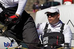 Johnie Berntsson, Berntsson Sailing Team, St Moritz Match Race 2010. World Match Racing Tour. St Moritz, Switzerland. 1st September 2010. Photo: Ian Roman/WMRT.