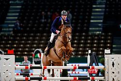 RÖMMER Falk (GER), San Chano<br /> Leipzig - Partner Pferd 2018<br /> Finale Partner Pferd Cup         <br /> © www.sportfotos-lafrentz.de/Stefan Lafrentz