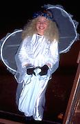 Halloween fairy age 11 trick or treating.  St Paul  Minnesota USA