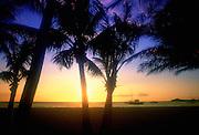 Sunset, Kohala Coast, Island of Hawaii,<br />