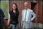 VICTORIA SIDDALL; CHARLES SAUMAREZ SMITH; , Drinks party to launch this year's Frieze Masters.Hosted by Charles Saumarez Smith and Victoria Siddall<br />  Academicians' room - The Keepers House. Royal Academy. Piccadilly. London. 3 July 2014