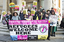 November 17, 2018 - Londres, Angeterre, UK - Thousands of people march as part of the National Unity Demonstration Against Fascism and Racism March at Regent Street, London, England, UK on Saturday 17 November 2018 (Credit Image: © Panoramic via ZUMA Press)