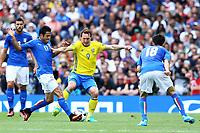 Eder Italy, Kim Kallstrom Sweden <br /> Toulouse 17-06-2016 Stade de Toulouse <br /> Football Euro2016 Italy - Sweden / Italia - Svezia Group Stage Group E<br /> Foto Matteo Ciambelli / Insidefoto