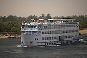 Cruise ship on Nile River, Egypt