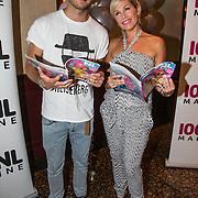 NLD/Volendam/20140626 - 100%NL magazine bestaat 5 jaar, Tanja Jess en Jim Bakkum