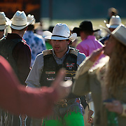 Hawk Whitt gets ready for the night at the Darby MT Elite Proffesionals Bull Riding Event July 7th 2017.  Photo by Josh Homer/Burning Ember Photography.  Photo credit must be given on all uses.