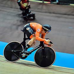 29-02-2020: Wielrennen: WK Baan: Berlijn <br />Harry Lavreysen plaatst zich voor de halve finale sprint