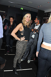 ASHLEY ROBERTS at a party to celebrate the opening of the Rum Shack, Floridita, 100 Wardour Street, London on 1st February 2013.