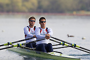 Mcc0038874 . Daily Telegraph..DT Sport.Mens Double Scull Bill Lucas and Sam Townsend.The announcement of the GB Rowing Crews for the first World Cup.. .Reading 4 April 2012