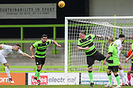 Forest Green Legends Matt Coupe and Forest Green Legends Wayne Hatswell during the Trevor Horsley Memorial Match held at the New Lawn, Forest Green, United Kingdom on 19 May 2019.