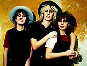 Bananarama 1982 London Photosessions. Siobhan Fahey, Karen Woodward and Sarah Dallin