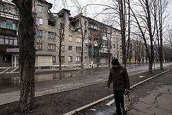 Bombed out and detroyed buildings that bear the scars of the fierce fighting the city saw in February are all around Debaltsevo. Despite rumours that many residents are returning to the damaged city following a ceasefire in February, food, medicine and building supplies - with which to repair homes - are in short supply and MSF has started a programme of mobile clinics and home visits to reach some of the most vulnerable and most in need with medical care.