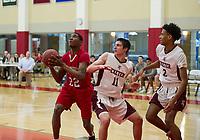 SPS boys basketball with Exeter.  ©2018 Karen Bobotas Photographer