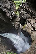 Trummelbach Falls, Lauterbrunnen Valley, Switzerland