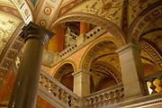 Eastern Europe, Hungary, Budapest, Interior of the Opera House