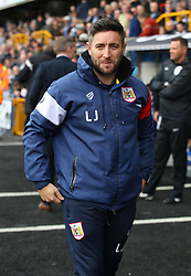 Bristol City manager Lee Johnson during their Sky Bet Championship football match against Millwall