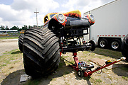 MONSTER TRUCK_Black Smith prior to the Monster Truck Challenge at the Orange County (NY) Fair Speedway.