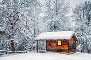 A wooden chapel near village of Brashlayn in Strandzha Mountain