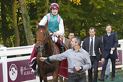 September 30, 2017 - Chantilly, France, France - Course 1 - Ice Breeze - Vincent Cheminaud (Credit Image: © Panoramic via ZUMA Press)