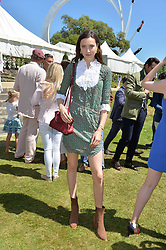 Matilda Lowther at the Cartier Style et Luxe at the Goodwood Festival of Speed, Goodwood, West Sussex, England. 2 July 2017.<br /> Photo by Dominic O'Neill/SilverHub 0203 174 1069 sales@silverhubmedia.com