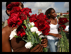 29 August 2006 - New Orleans - Louisiana. Lower 9th ward. Great Flood commemoration and memorial ceremony; to 'honor and remember our loved ones who have passed. <br />