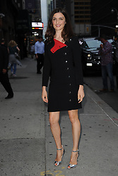 August 25, 2016 - New York, NY, USA - August 25,  2016 New York City..Rachel Weisz arriving to tape an appearance on 'The Late Show with Stephen Colbert' on August 25, 2016 in New York City. (Credit Image: © Kristin Callahan/Ace Pictures via ZUMA Press)
