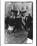 Piers Dennison at the St. John's Ball. Cambridge. 17 June 1986. Film 86458f36<br /> © Copyright Photograph by Dafydd Jones<br /> 66 Stockwell Park Rd. London SW9 0DA<br /> Tel 0171 733 0108