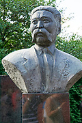 Headstone at Novodevichy Cemetery, Moscow, Russia