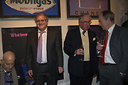 NAIM ATTALAH; TREVOR BOX; LORD MAGAN OF CASTLETOWN; SIMON JENKINS, The launch of The City of Westminster: A Celebration of People,  published by Quartet in collaboration with the Sir Simon Milton Foundation. Hosted by Robert Davis MBE and Naim Attallah CBE, Halcyon Gallery. London. 20 March 2017.