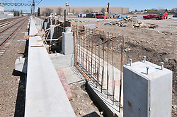 Construction Progress Photography of the Railroad Station at Fairfield Metro Center - Site visit 10 of once per month Chronological Documentation.