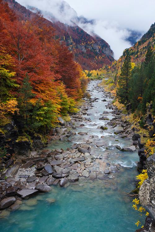 Río Arazas, Valle de Ordesa, Huesca