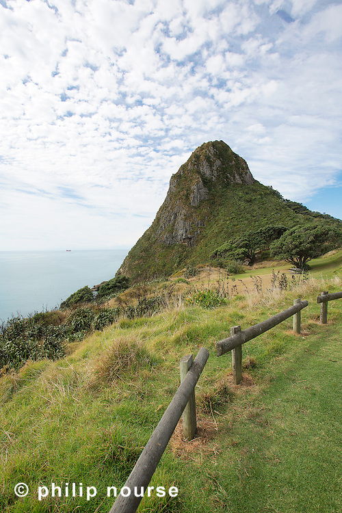 Paritutu Rock, New Plymouth, North Island, New Zealand
