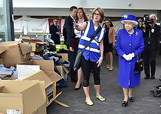 London: The Queen and The Duke of Cambridge visit the Grenfell Tower Fire - 16 June 2017