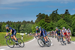 Radsport: 36. Bayern Rundfahrt 2015 / 5. Etappe, Hassfurt - Nuernberg, 17.05.2015<br /> Cycling: 36th Tour of Bavaria 2015 / Stage 5, <br /> Hassfurt - Nuernberg, 17.05.2015<br /> # 33 Gadret, John (FRA, MOVISTAR TEAM)
