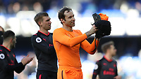 Football - 2017 / 2018 Premier League - Everton vs. Arsenal<br /> <br /> Petr Cech of Arsenal after the match at Goodison Park.<br /> <br /> COLORSPORT/LYNNE CAMERON
