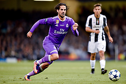 June 3, 2017 - Cardiff, South Glamorgan, Wales - Isco of Real Madrid during the UEFA Champions League Final match between Real Madrid and Juventus at the National Stadium of Wales, Cardiff, Wales on 3 June 2017. (Credit Image: © Giuseppe Maffia/NurPhoto via ZUMA Press)