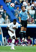 Samuel Umtiti (France) Cristian Stuani (Uruguay)<br /> Nizhny Novgorod 06-07-2018 Football FIFA World Cup Russia  2018 Uruguay - France / Uruguay - Francia <br /> Foto Matteo Ciambelli/Insidefoto