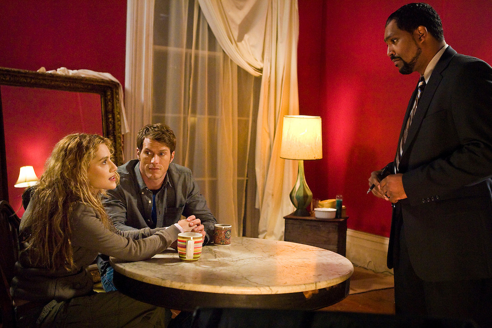 Brittany Murphy as Cilla McGowan and Jason Lewis as Ford Sawyer in Lifetime Television's 'Tribute.'