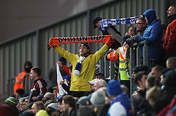 General views as fans protest both the Blackpool and Blackburn Rovers owners during the match - Mandatory by-line: Jack Phillips/JMP - 28/01/2017 - FOOTBALL - Ewood Park - Blackburn, England - Blackburn Rovers v Blackpool - FA Cup Fourth Round