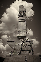 Monument to the Defenders of Westerplatte in Gdansk, Poland. Image taken with a Leica X2 camera (ISO 100, 24 mm, f/6.3, 1/1600 sec). Raw image processed with Capture One Pro, Focus Magic, and Photoshop CC.