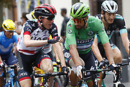 Peter Sagan (SVK - Bora - Hansgrohe) Green Jersey, Daniel Martin (IRL - UAE Team Emirates) during the 105th Tour de France 2018, Stage 21, Houilles - Paris Champs-Elysees (115 km) on July 29th, 2018 - Photo Luca Bettini / BettiniPhoto / ProSportsImages / DPPI