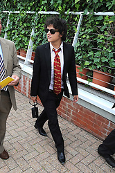 JAMIE CULLUM at the 3rd day of the 2008 Glorious Goodwood racing festival at Goodwood Racecourse, West Sussex on 31st July 2008.<br /> <br /> NON EXCLUSIVE - WORLD RIGHTS